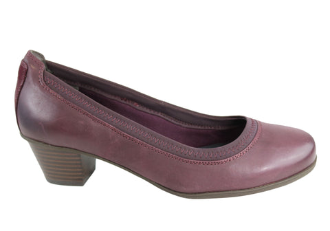 Rockport Amy Pump Womens Wide Fit Leather Pump Shoes