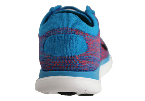 official photos 4589a 4b304 Nike Free Flyknit 4.0 Mens Barefoot Feel Running Shoes