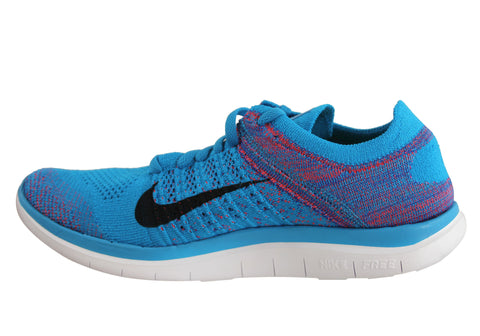 official photos 9230e 336a8 Nike Free Flyknit 4.0 Mens Barefoot Feel Running Shoes