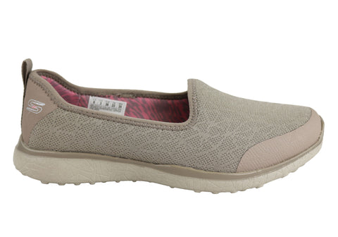 Skechers Microblast Its My Life Womens Memory Foam Casual Shoes