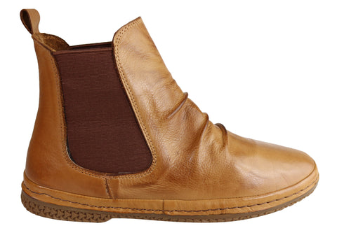 Orizonte Venice Womens European Comfortable Soft Leather Ankle Boots