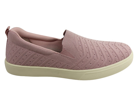 Scholl Orthaheel Young Womens Supportive Comfort Slip On Casual Shoes