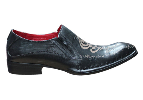 Studio 56 Mitch Mens Leather Dress Shoes
