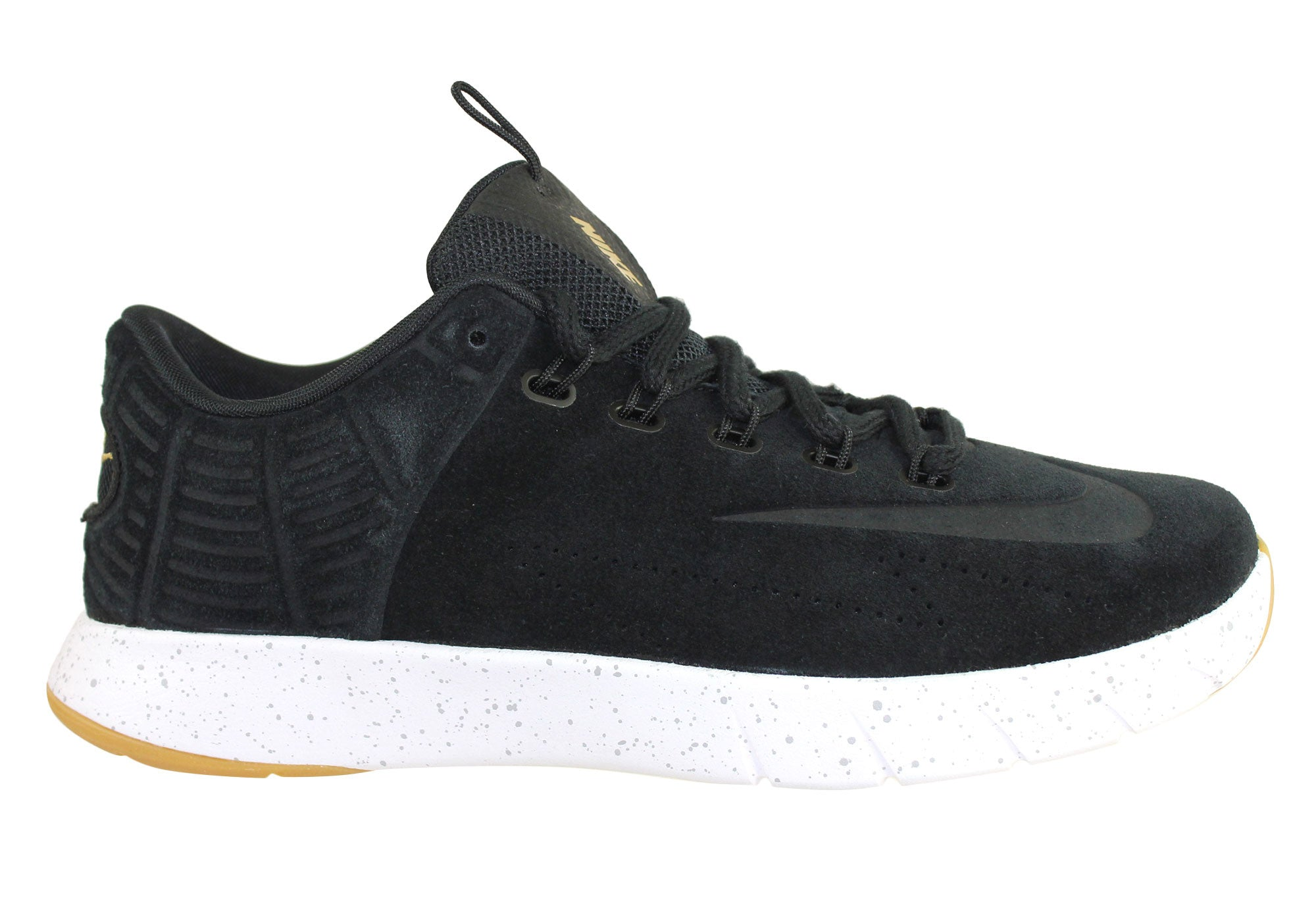 brand new 393f8 c4ed0 Home Nike Lunar Hyperrev Low Ext Mens Trainers Basketball Shoes. Black  ...