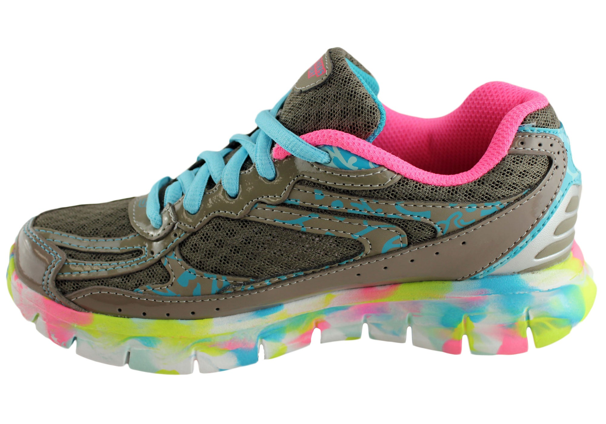Skechers Kids Girls Synergy Super Lightweight Sport Shoes