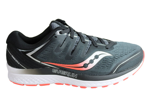 Saucony Mens Guide ISO 2 Comfortable 2E Wide Width Athletic Shoes