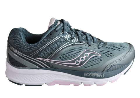 Saucony Womens Echelon 7 Cushioned Comfortable Wide Fit Athletic Shoes