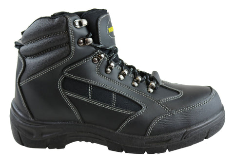 Woodlands Apprentice Mens Lace Up Safety Steel Toe Work Boots