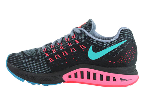 factory price 32331 e92ec Nike Air Zoom Structure 18 Womens Premium Cushioned Running Shoes