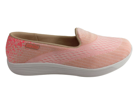 Actvitta Erica Womens Comfort Cushioned Casual Shoes Made In Brazil