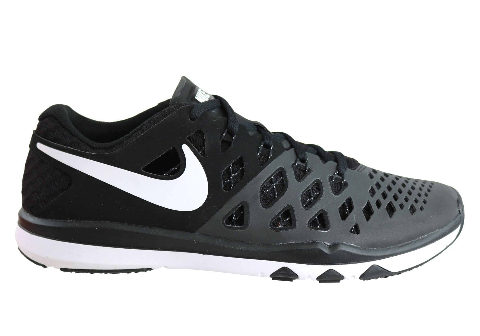 dffc89ed232f Home Nike Train Speed 4 TB Mens Crossing Trainers Sport Shoes. Black White  ...
