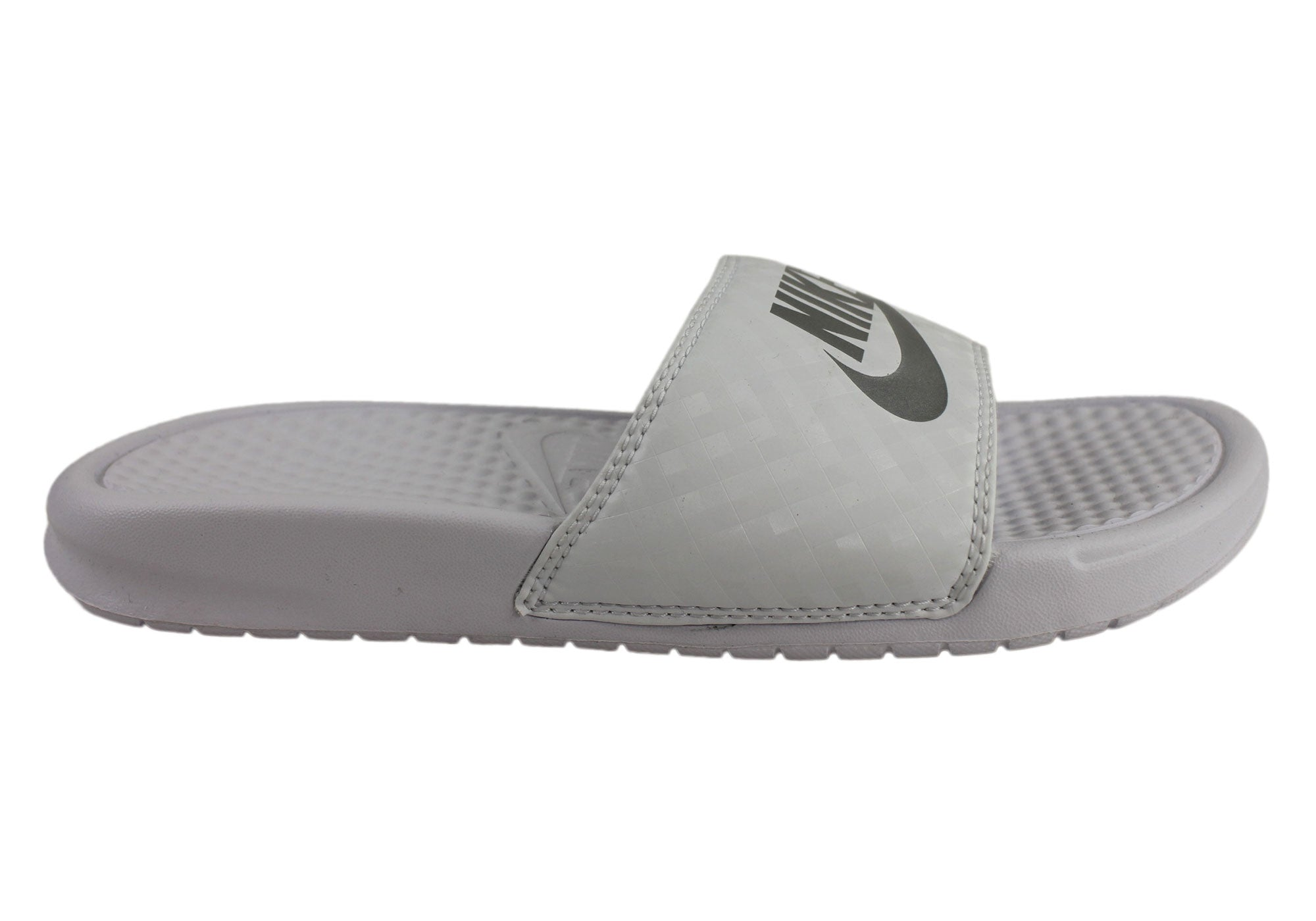 Awesome Nike Benassi JDI Slide - Navy/White | Scoopon Shopping