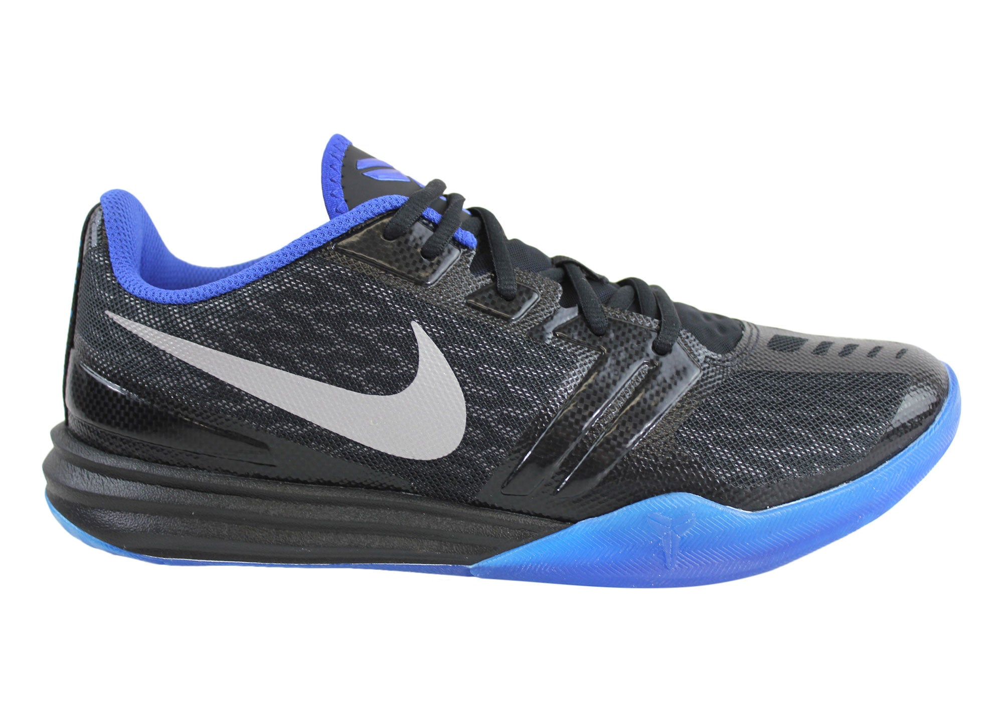 ce0d6c5938f4 Home Nike KB Mentality Mens Koby Bryant Basketball Boots. Black  ...