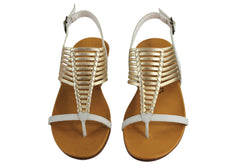 Gino Ventori Nigela Womens Leather Sandals Made In Brazil