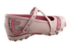 Skechers Kids Girls Bella Ballerina Prima Shoes That Spin