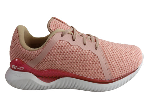 Actvitta Amora Womens Comfy Lightweight Cushioned Lace Up Active Shoes