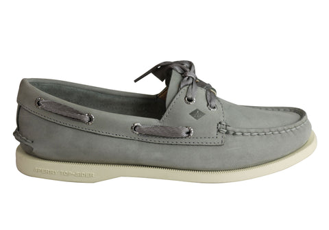 Sperry Womens Comfort Leather Authentic Original Satin Lace Boat Shoes