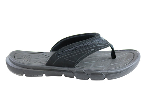Skechers Hugom Mens Comfortable Thongs Flip Flops