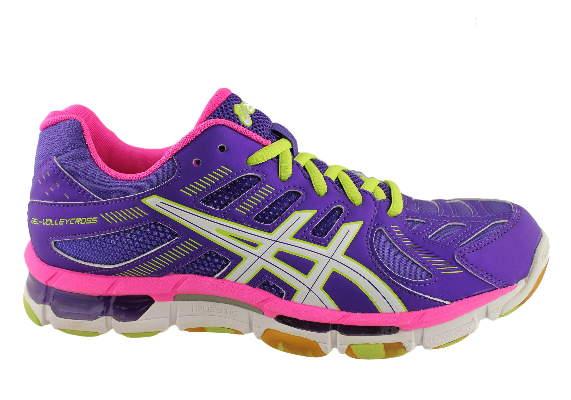 Details about NEW ASICS GEL VOLLEYCROSS REVOLUTION WOMENS VOLLEYBALLNETBALL SHOES