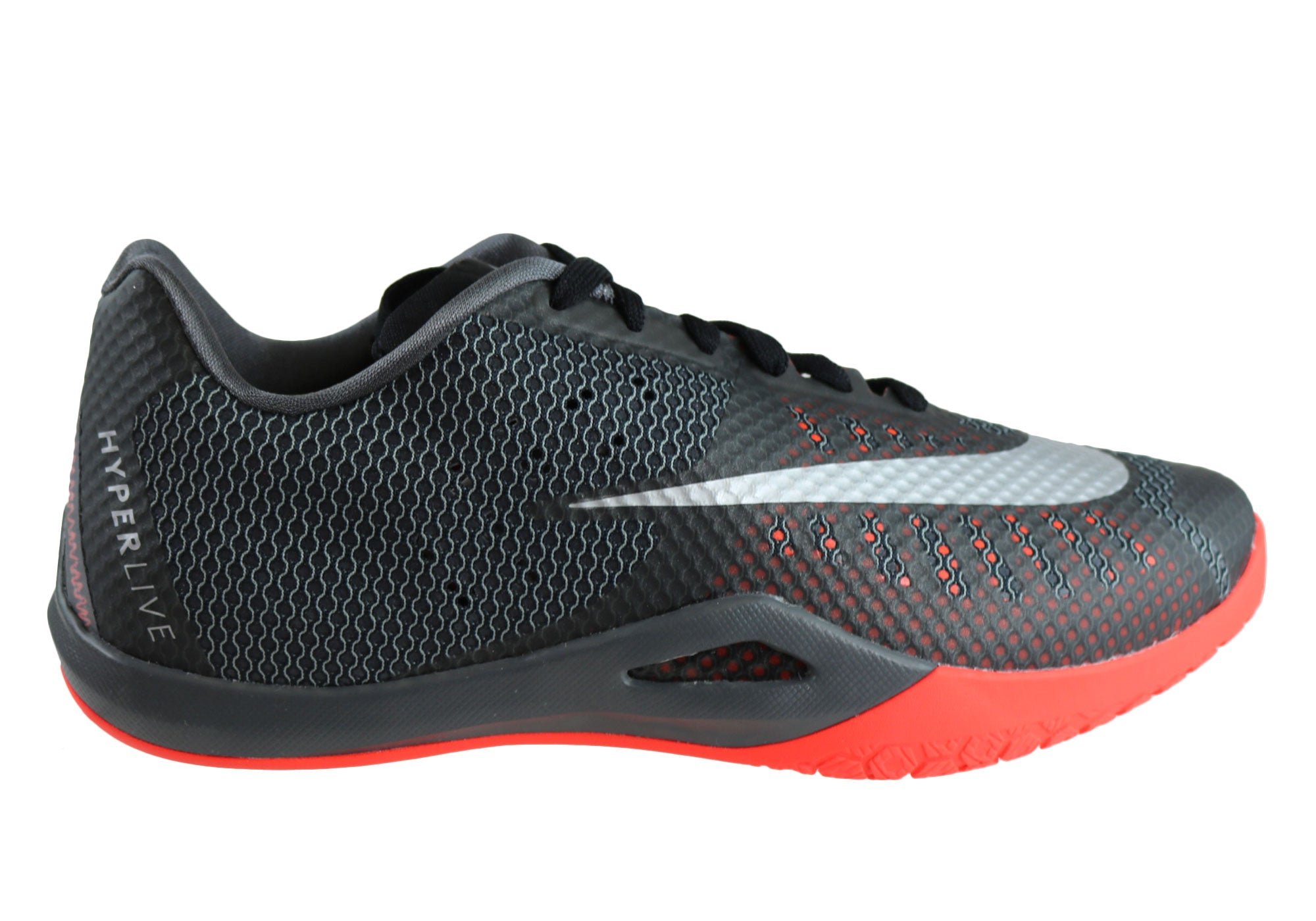 6c19faa1f7f0 Nike Hyperlive Mens Basketball Shoes Trainers