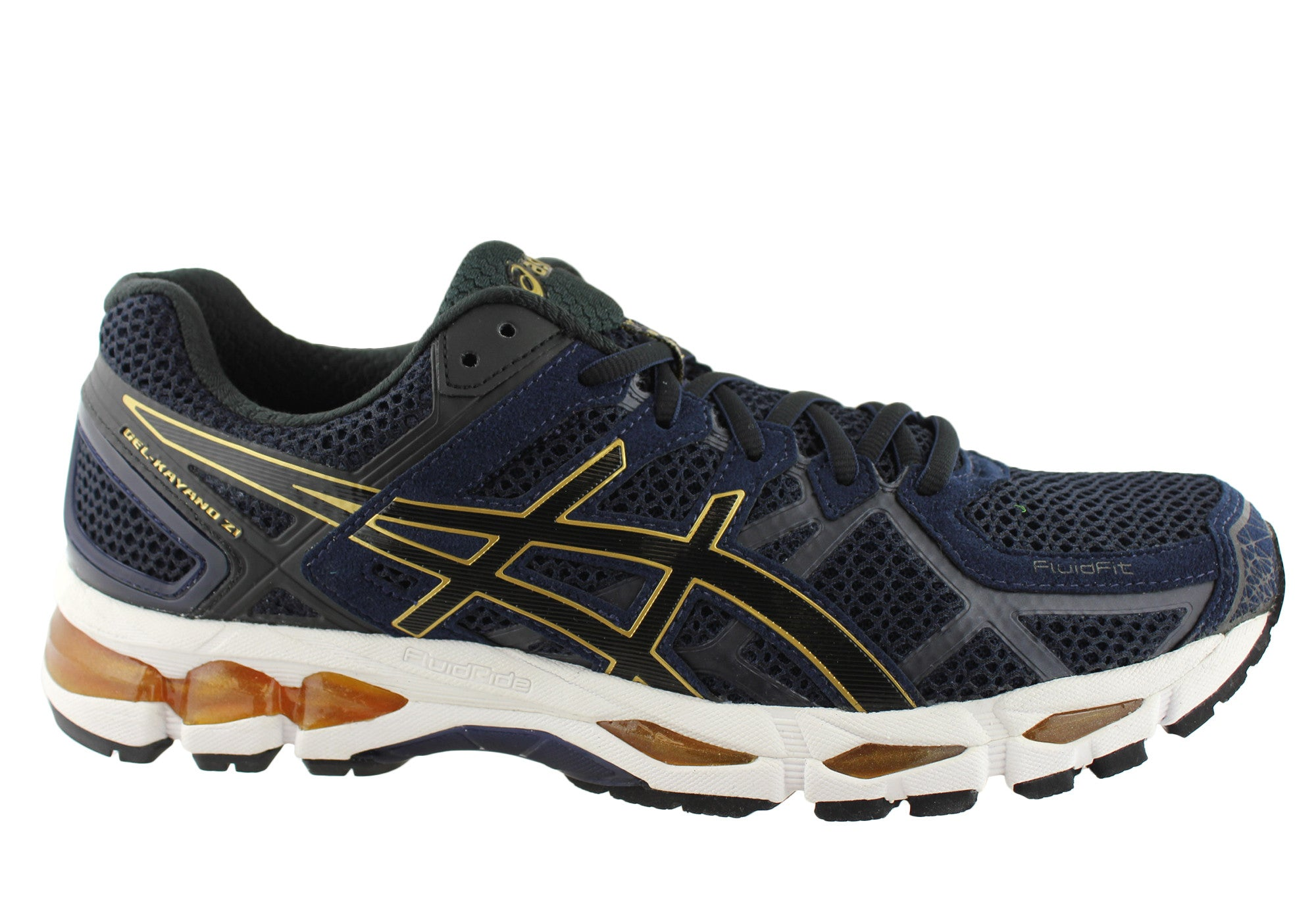 297853d0b539 discount code for yellow gold womens asics gel kayano 21 shoes 52459 ...