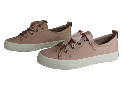 8391d0f1c2a Sperry Womens Comfort Fashion Crest Vibe Satin Lace Sneaker Casuals ...