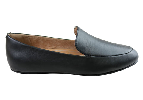 Fitflop Womens Comfortable Leather Lena Loafers Flats Shoes