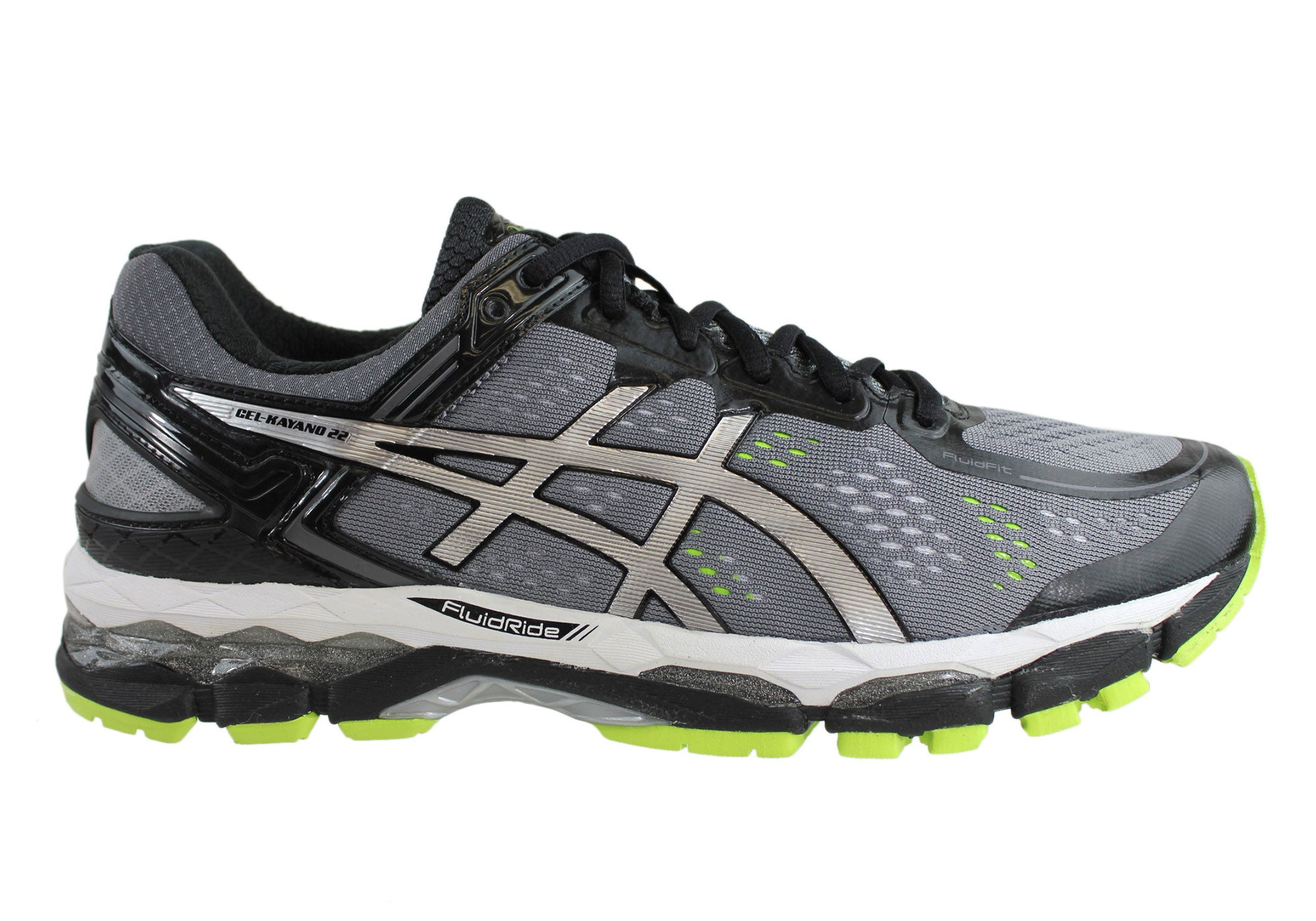 asics gel kayano 22 mens 4e extra wide width premium cushioned running sport shoes
