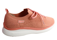 Actvitta Lily Womens Comfy Lightweight Cushioned Slip On Active Shoes