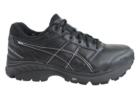 Asics Womens Leather Gel-Foundation Walker 3 (Extra Wide Width)