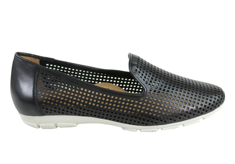 Gino Ventori Candid Womens Comfort Soft Leather Everyday Flats