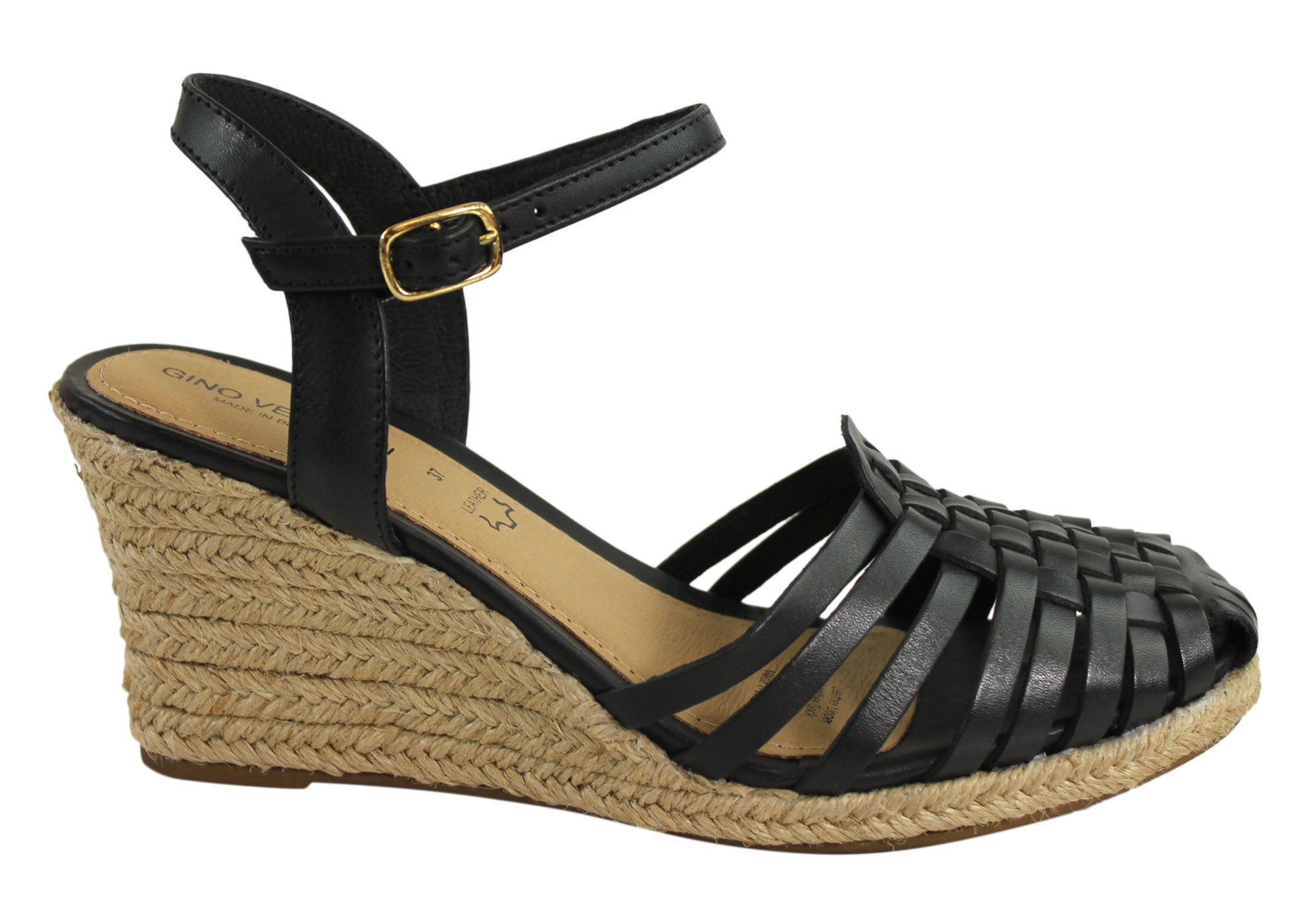 Gino Ventori Fabulous Womens Wedge Espadrille Shoes