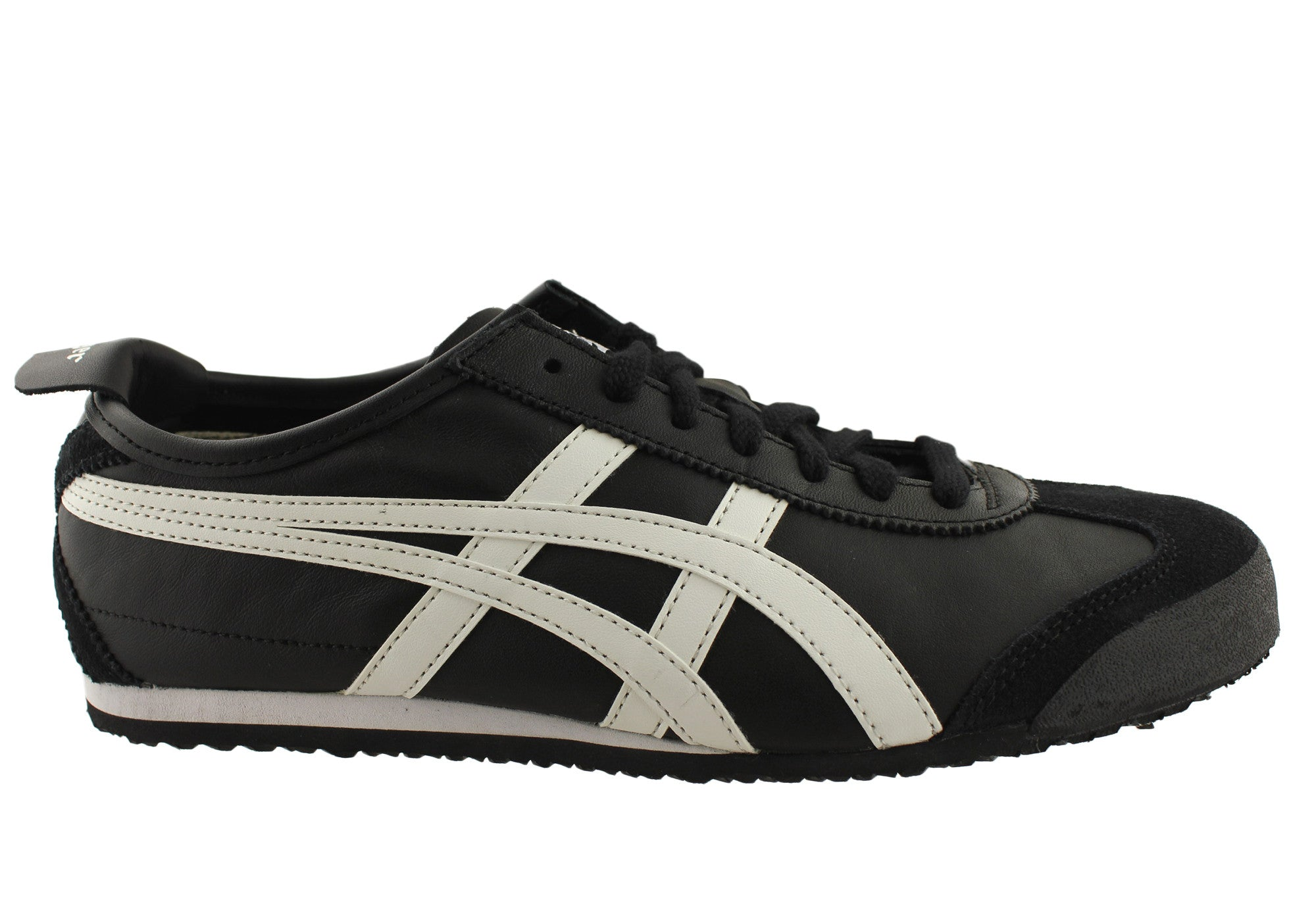 on sale d121e 34e88 Asics Onitsuka Tiger Mexico 66 Mens Leather Lace Up Casual Shoes | Brand  House Direct