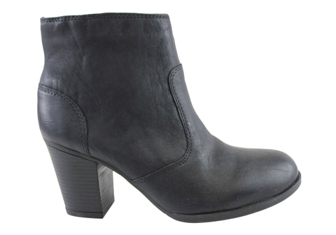 Rockport Catriona Zip Bootie Womens Leather Boots