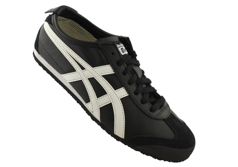 pretty nice 37f6c 76824 Asics Onitsuka Tiger Mexico 66 Mens Leather Lace Up Casual Shoes