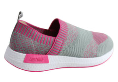 Actvitta Jess Womens Comfortable Cushioned Active Shoes Made In Brazil