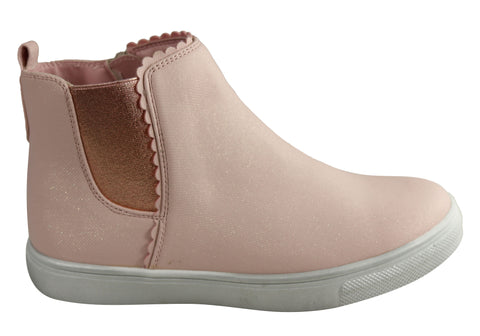 Grosby Gwendolyn Kids Girls Toddler and Junior Fashion Boots