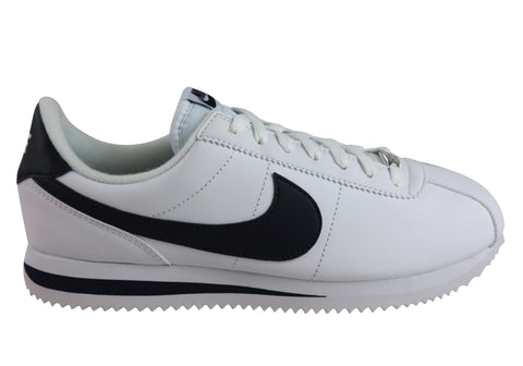 Nike Cortez Mens Basic Leather Lace Up Shoes
