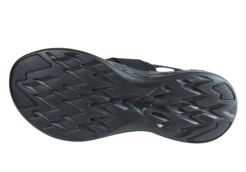 wholesale dealer bec0e 4eed1 Skechers Womens On The Go 600 Cushioned Comfortable Flat Sandals