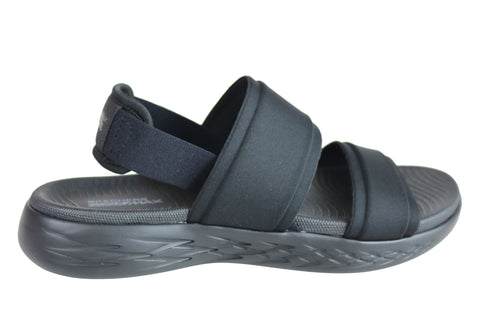 Skechers Womens On The Go 600 Cushioned Comfortable Flat