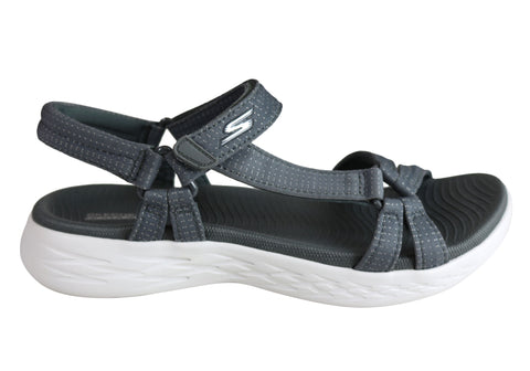 b705de377d2f Skechers Womens On The Go Cushioned Lightweight Comfortable Sandals ...