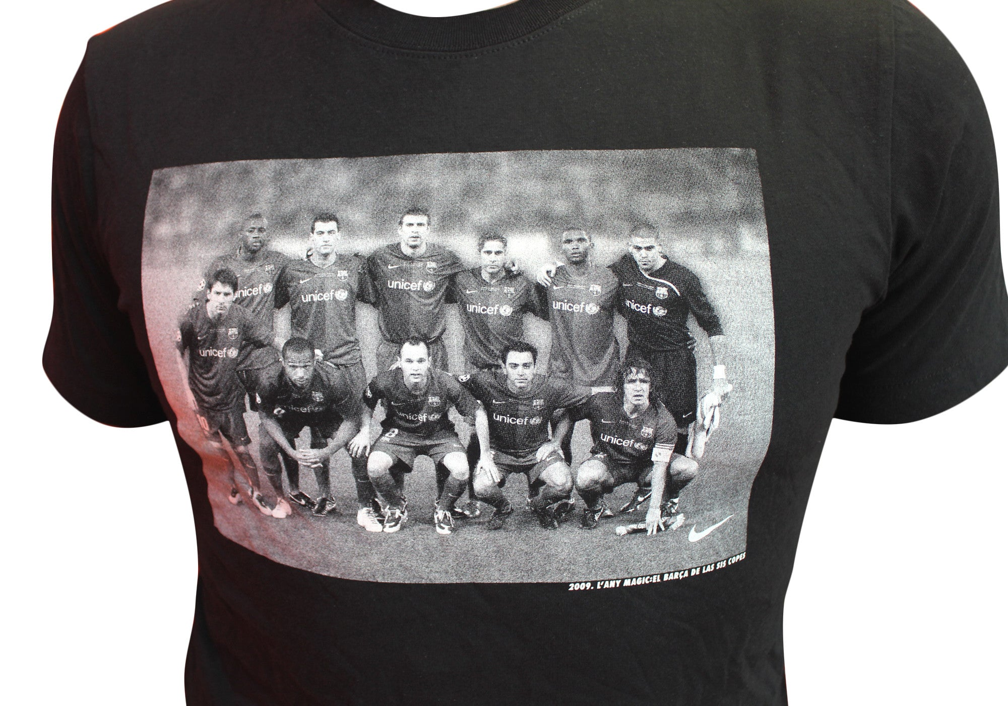 Nike Mens FC Barcelona 2009 Team Photo T-Shirt