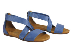 Gino Ventori Nicola Womens Leather Sandals Made In Brazil