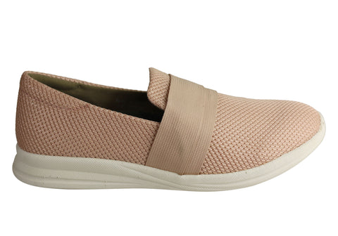 Homyped Jaida Womens Supportive Comfortable Slip On Casual Shoes