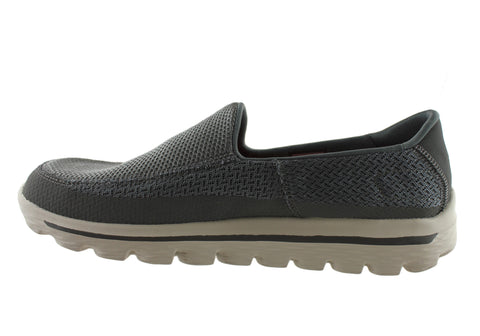1fb74338ffb0 Skechers Go Walk 2 Mens Comfortable Slip On Casual Shoes