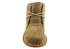 Grosby Dex Childrens Toddler Suede Lace Up Boots