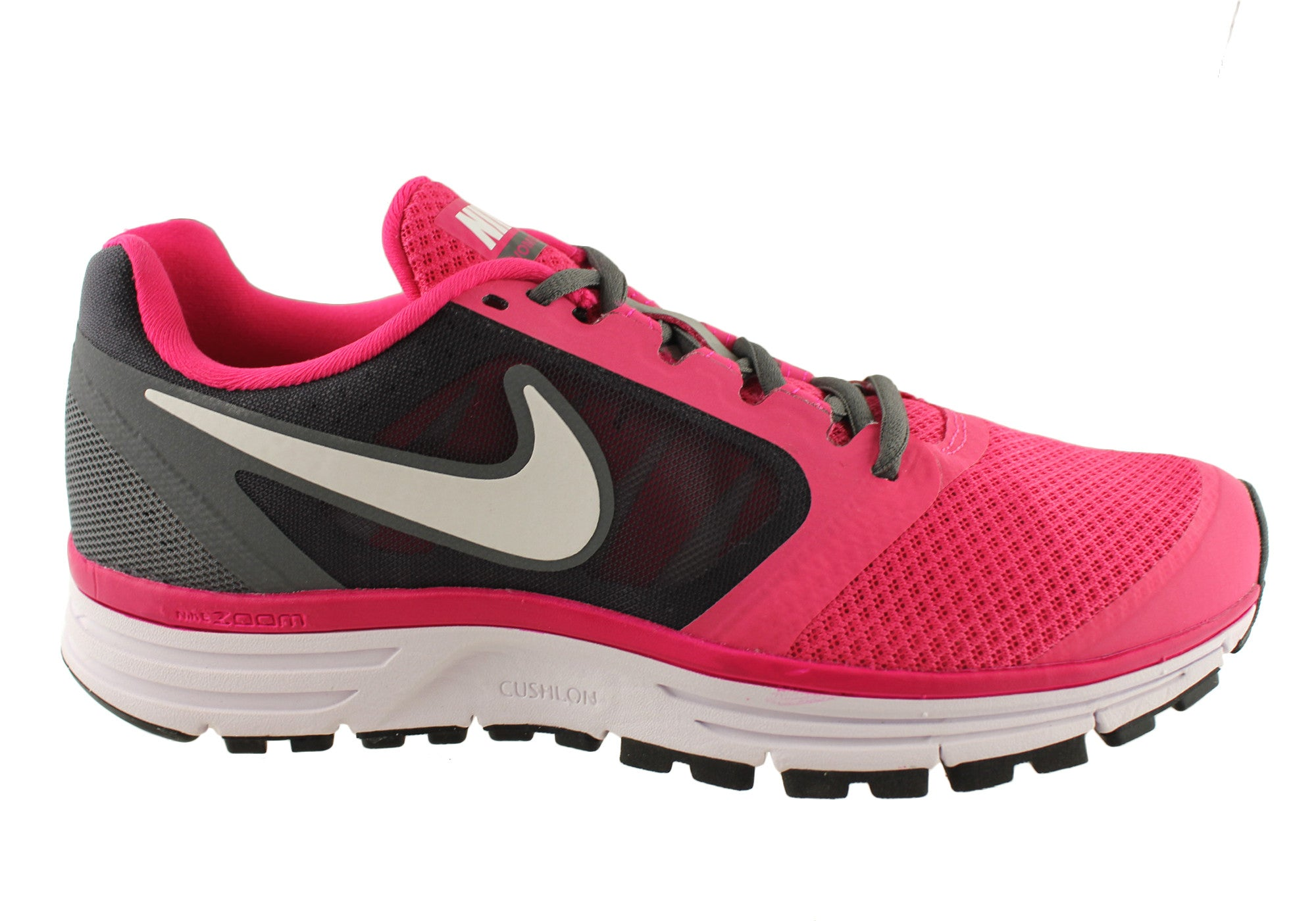Home Nike Zoom Vomero+ 8 Womens Sport Shoes. Pink/Grey ...