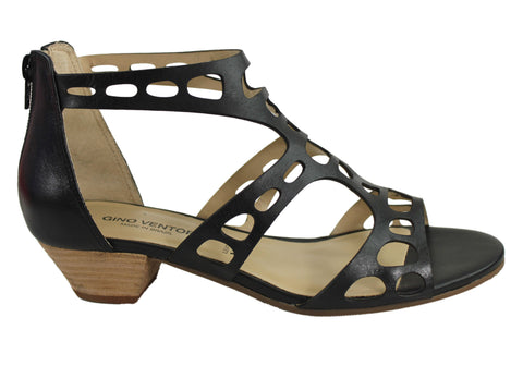 Gino Ventori Loop Womens Low Heel Sandals Made In Brazil