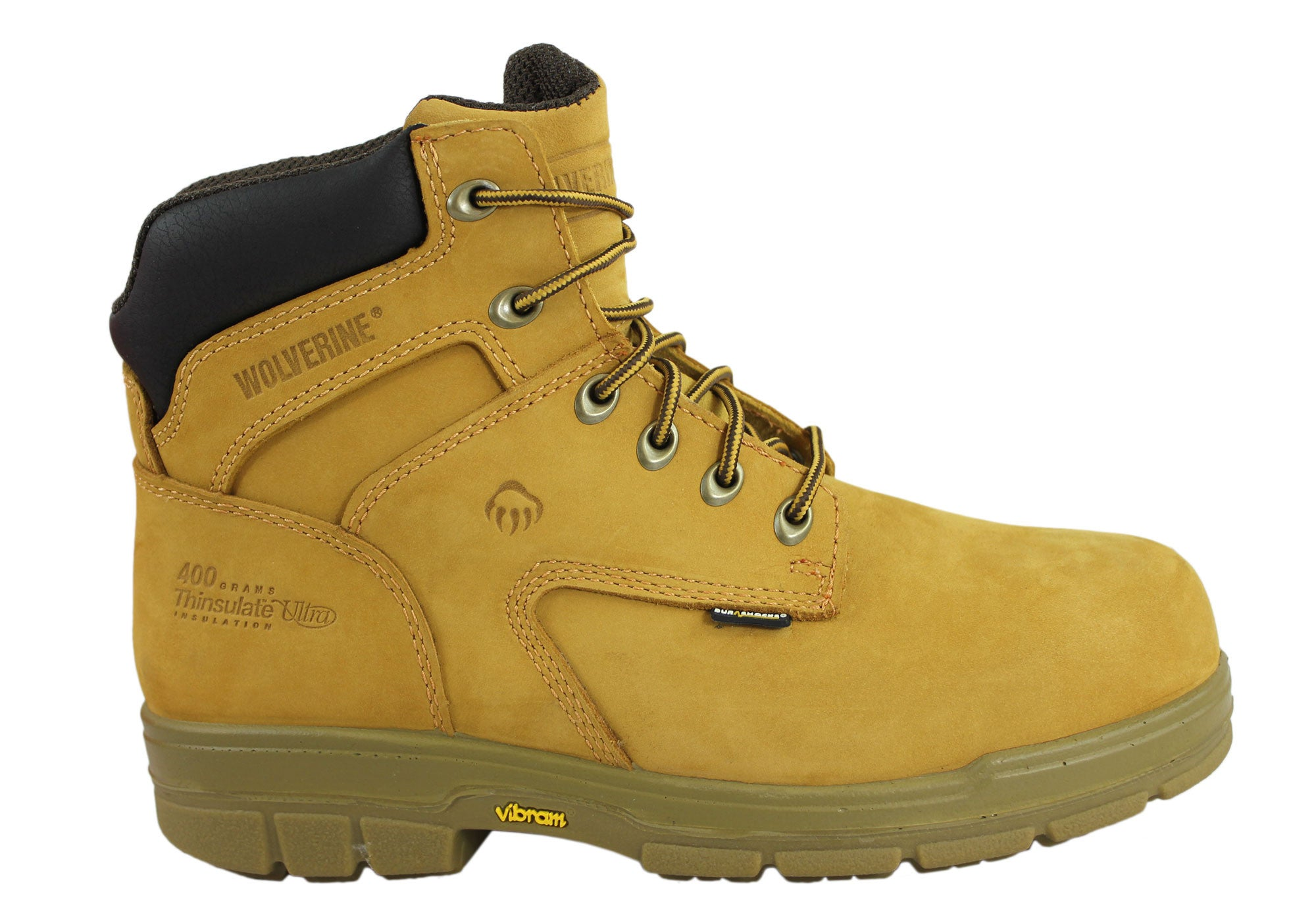 5a3b6e6c5da Wolverine Turner 6 Inch Mens Steel Cap Industrial Lace Up Work Boots