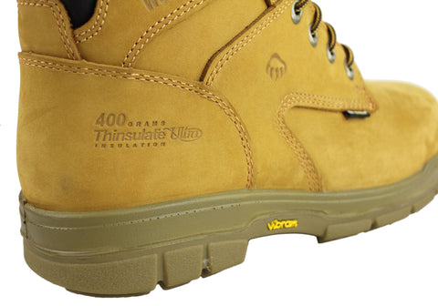 169befafe66 Wolverine Turner 6 Inch Mens Steel Cap Industrial Lace Up Work Boots ...
